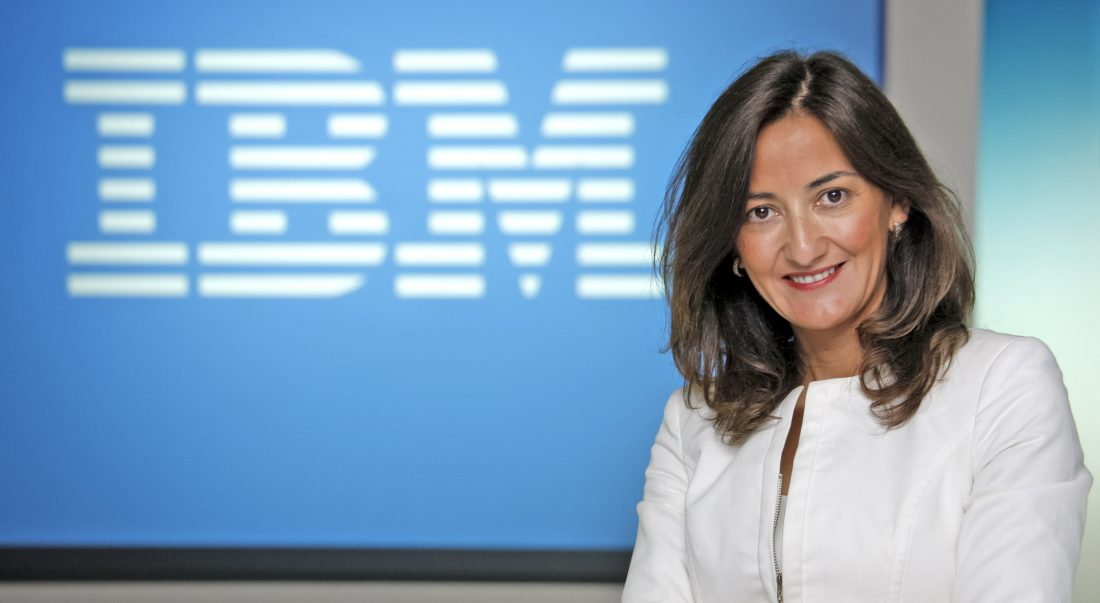Carmen García (IBM) participa en Géiser 2018.