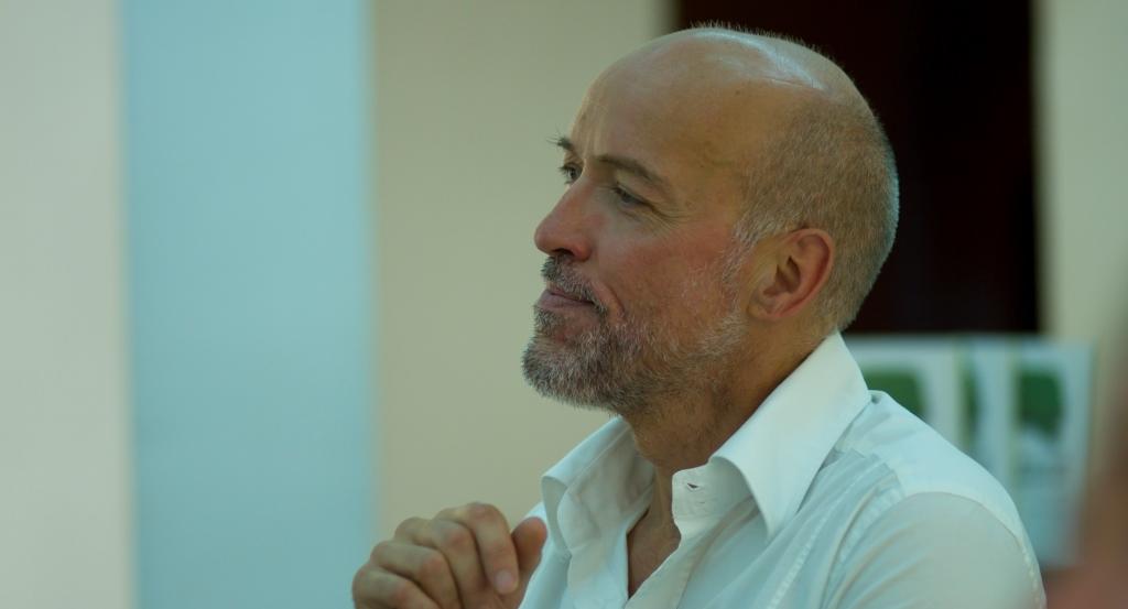 Imagen de Bosco González, conductor de Géiser, Foro de Innovación y Empresa Responsable.