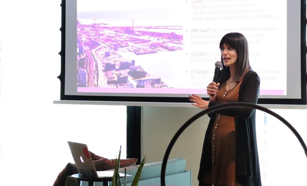 Marta del amo, ponente de Géiser 2019, Foro de Inoovación y Empresa Responsable