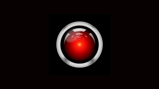Imagen de botón tipo Space_Odyssey, representando un botón rojo,para el post sobre la Electronic frontier fundation